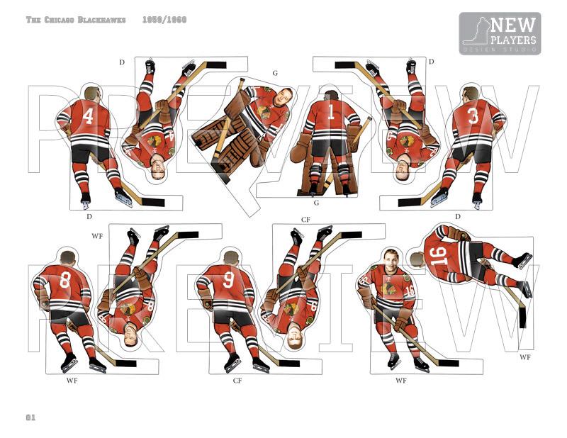 NHL Vintage seasons. NHL season 1959/60. Coleco Hockey ...