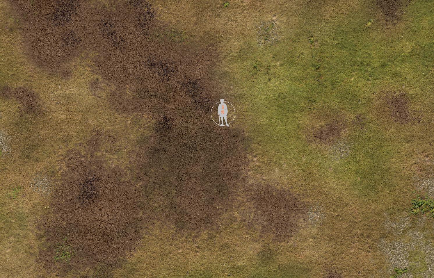 Grass Plain 019 Printable File The Battle Mat For