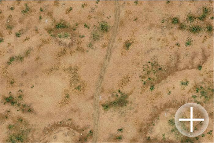 """Battlemat (023a) """"Arid Plain"""""""