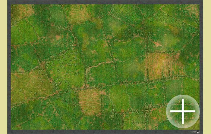 The Spring Fields (bm0266sp) The Battlemat 6x4 (6mm / 10mm)