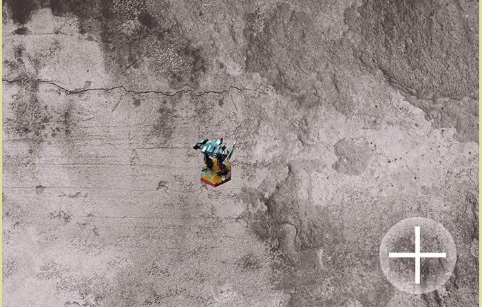 Concrete city background (bm029) Battlemat 6x4ft
