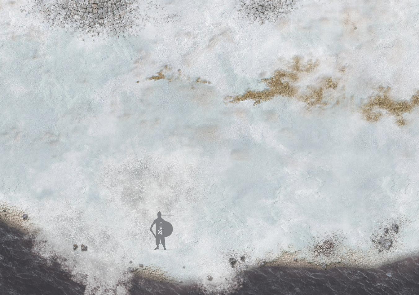 Clash of Oceans Battle Mat dungeons and dragons Battleboard warhammer wargaming