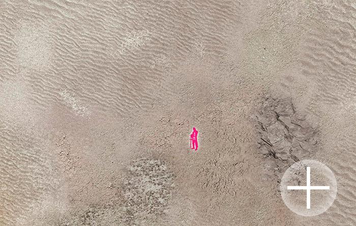 The Battlemat (064) White Desert plain