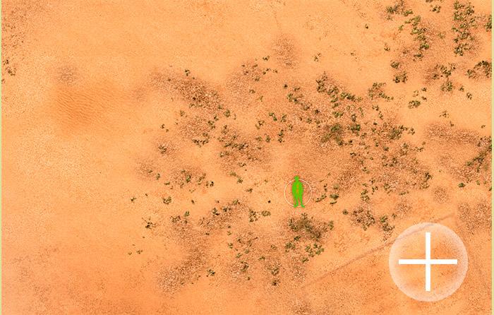The Battlemat (065) Sudan Desert plain