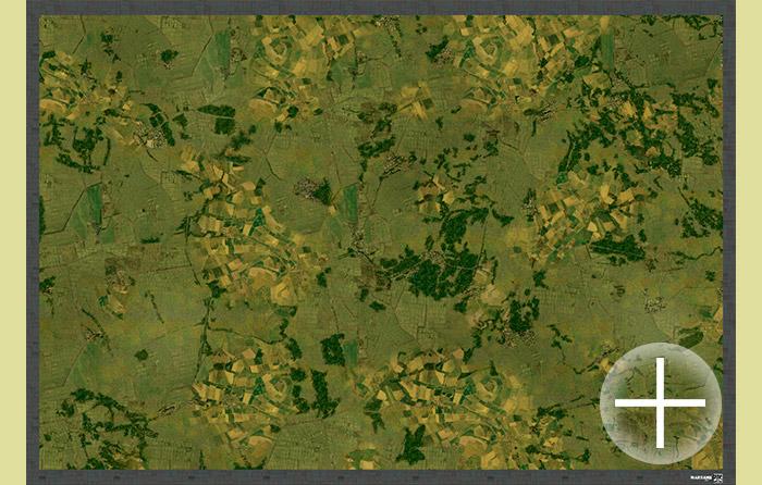 Aerial Battlemat 6x4ft (am002) Cold War