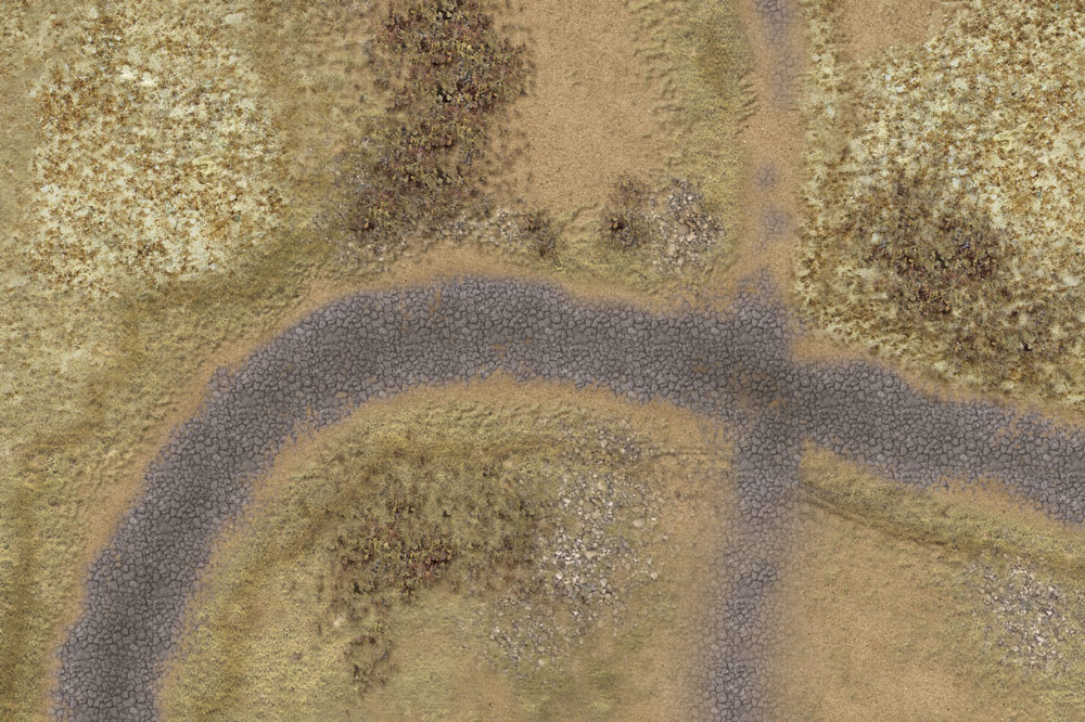 The Skirmish battlemat 6'x4' (ss002) 'Peninsular War'