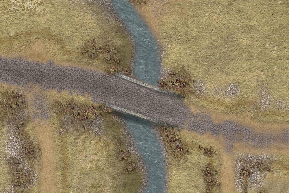 The Skirmish battlemat 6'x4' (ss002) 'Peninsular War'