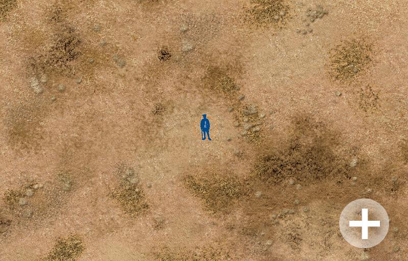 """Battlemat (023) """"Arid Plain"""""""