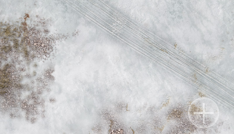 "Battlemat (034v) ""Winter Coastal Plain"""