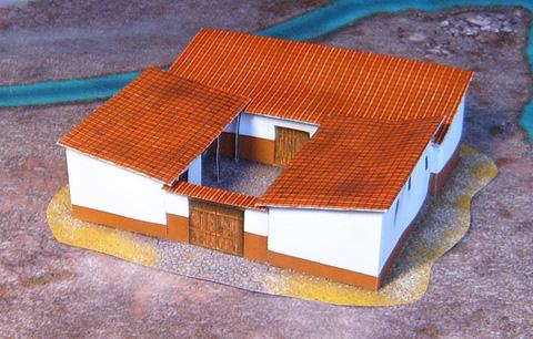 Roman house model