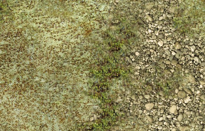 Wargame Battle mat (Arid plain 013)