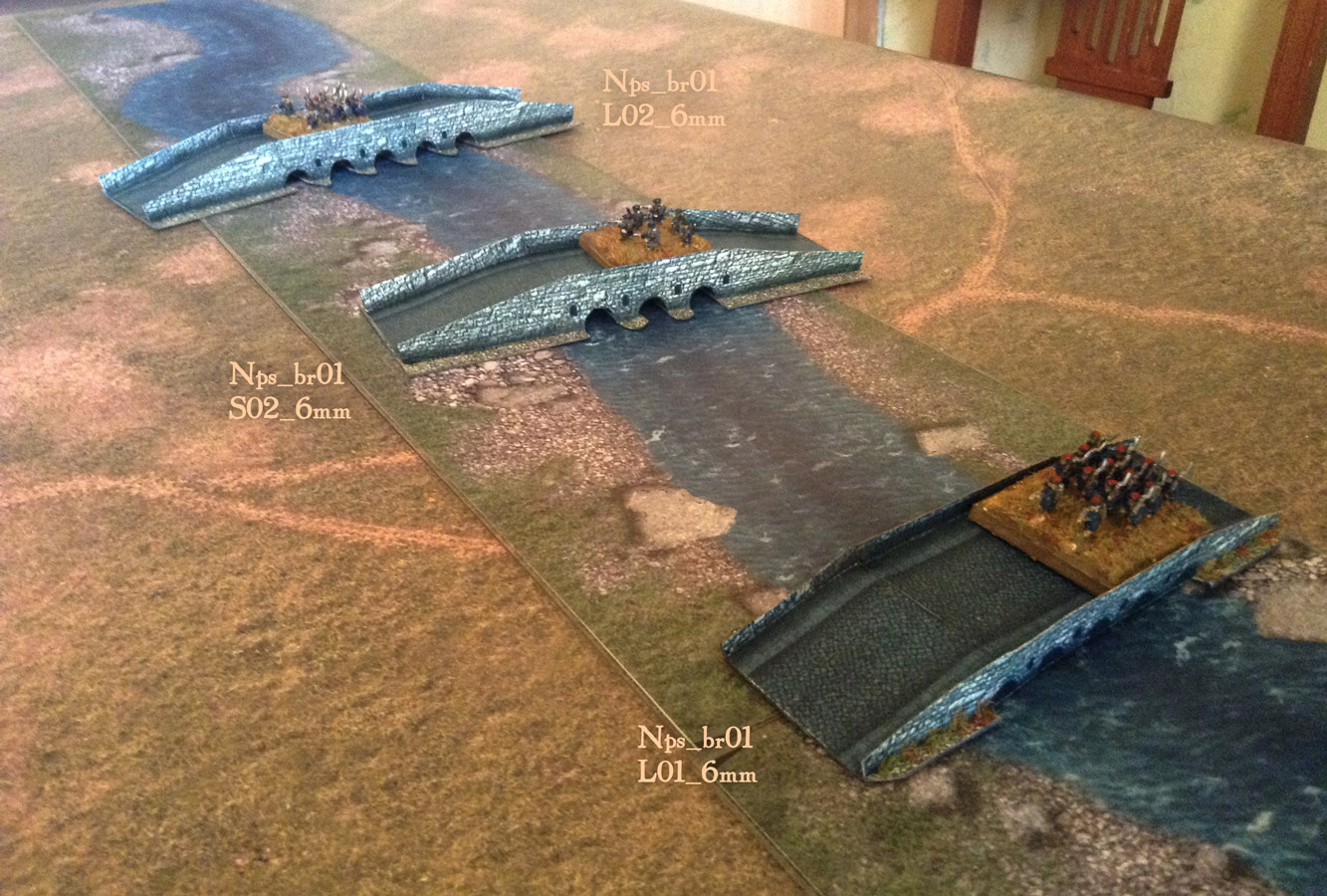 Stone Bridges set 6mm (1/285), 10mm, 15mm - WargamePrint | Foldable Paper  Scenery | DriveThruRPG com