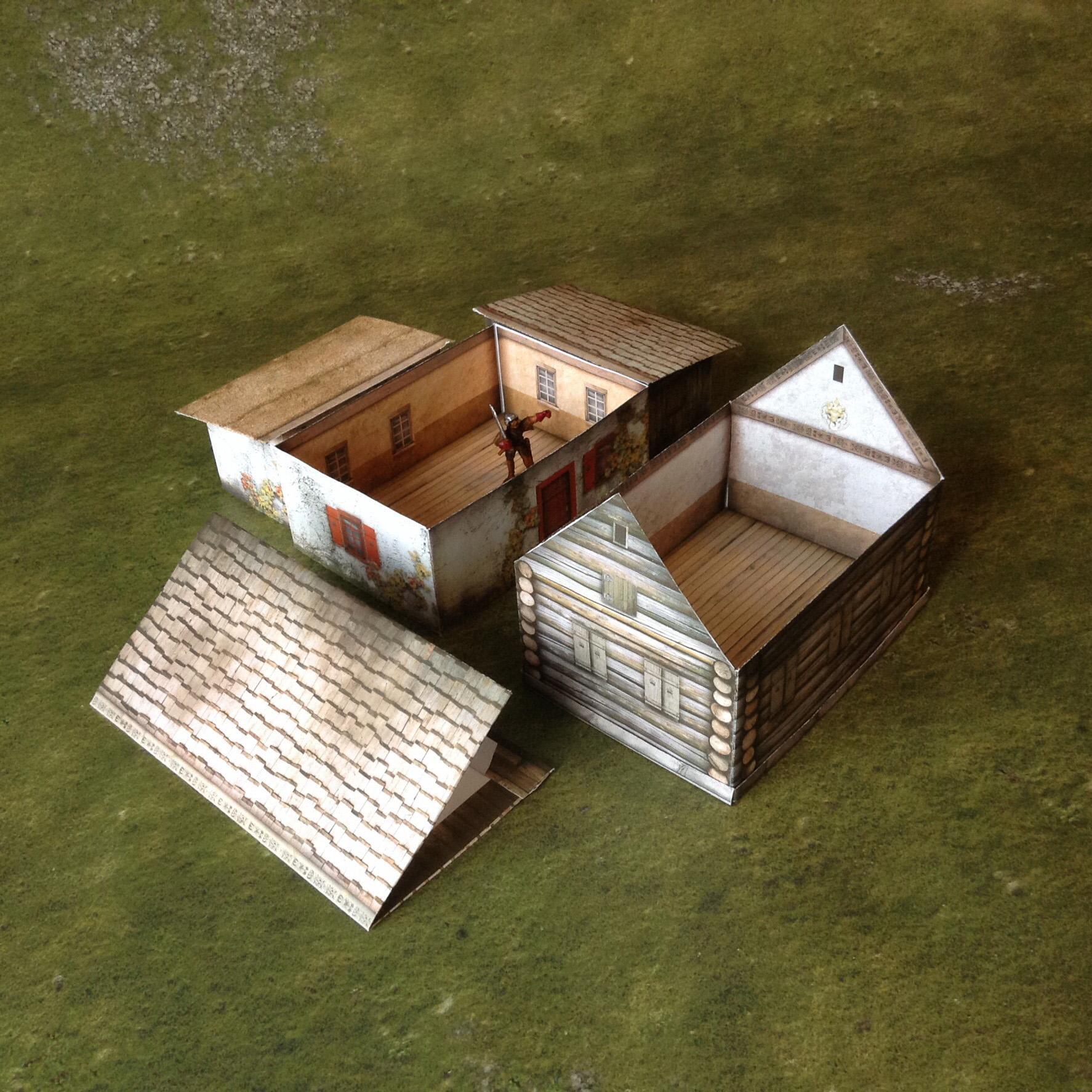Foldable Kislevite house