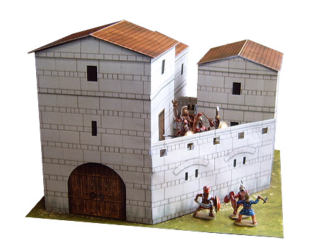 Ancient Greek fortification for DBA