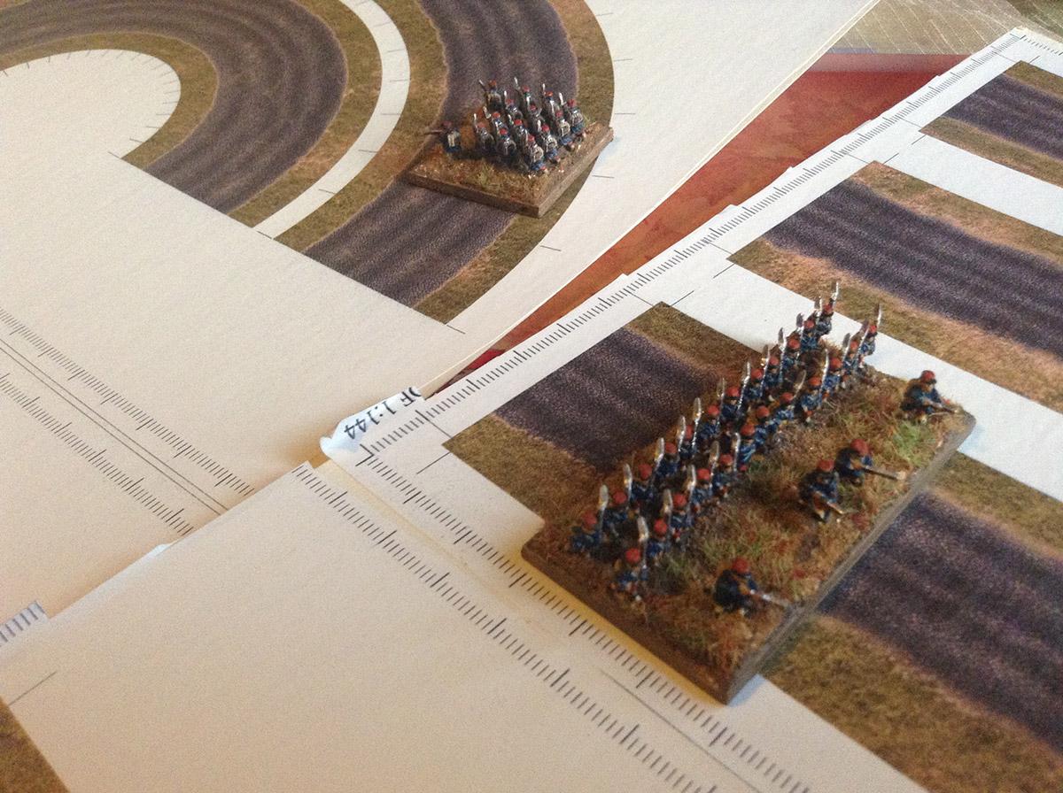 Napoleonic Style Stone Roads 6mm/10mm - WargamePrint | Foldable Paper  Scenery | Wargame Vault