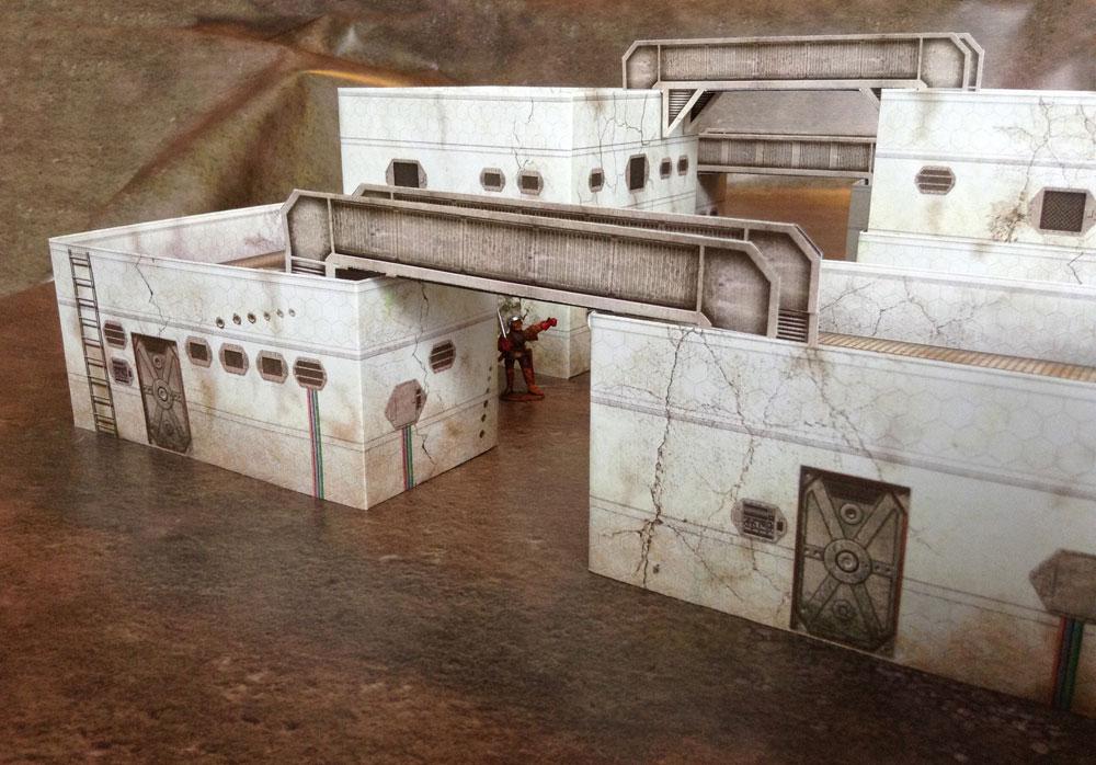 Sci-fi Style Buildings