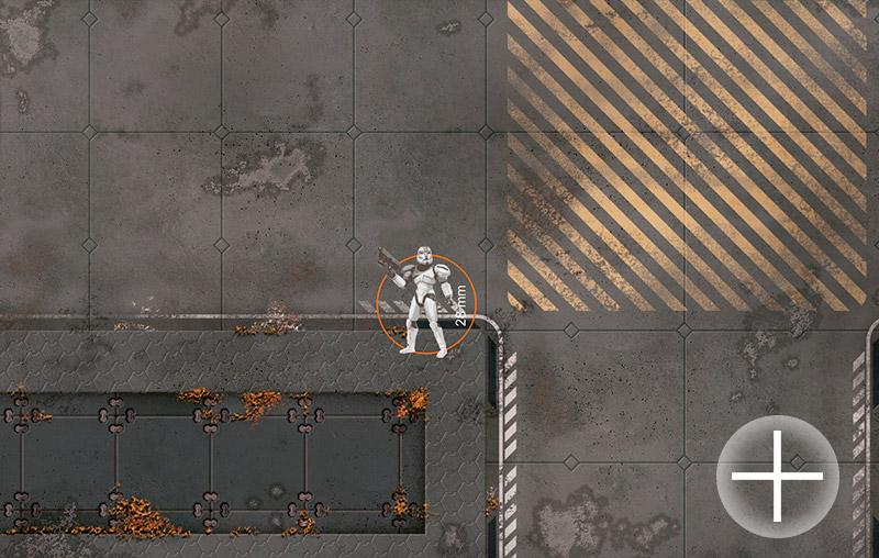 Sci-Fi Base Tiles. Wargame Modular 2D Paper Scenery