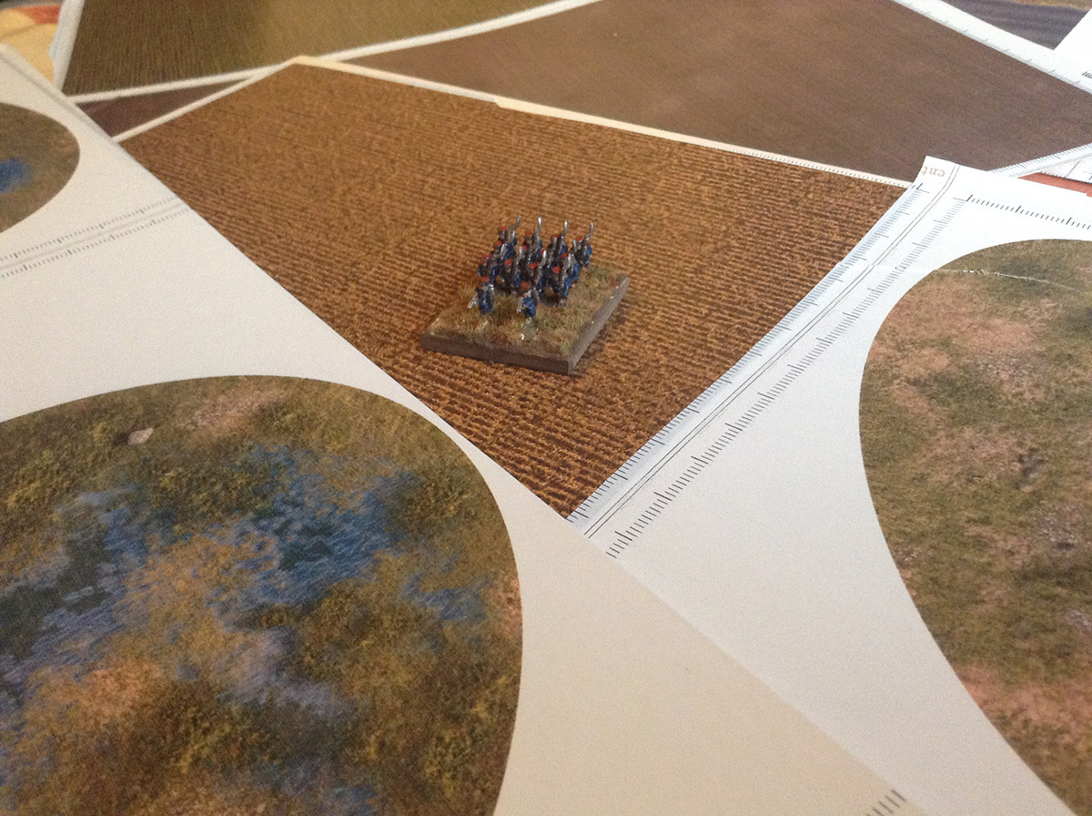 Country wargames scenery kit 1:285 (6mm) / 1:144 (10mm)  Paper 2D
