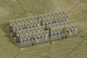 Just Paper Battles Napoleonics - Dutch-Belgian and Nassau Army (6mm) 1815.