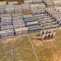 Just Paper Battles Napoleonics - British Army (6mm) 1812-1815. Modular Paper 2,5D Wargames System.