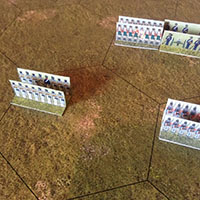 Just Paper Battles Napoleonics - Terrain - Hex 57mm Modular Paper 2,5D Wargames System.